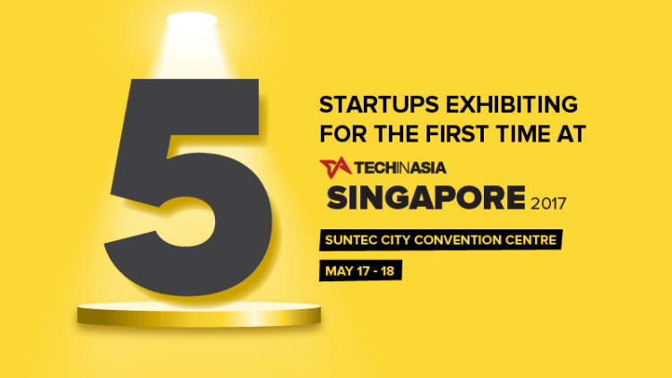 5 startups exhibiting for the first time at TIA Singapore 2017