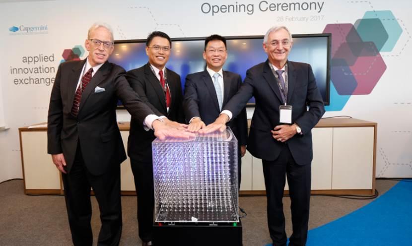 Capgemini Singapore Applied Innovation Exchange launch