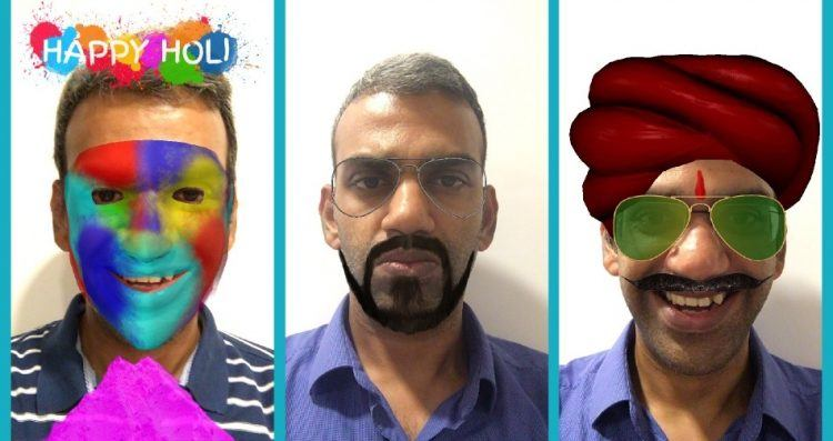 MaskUp brings AR to Holi  Is Snapchat watching?