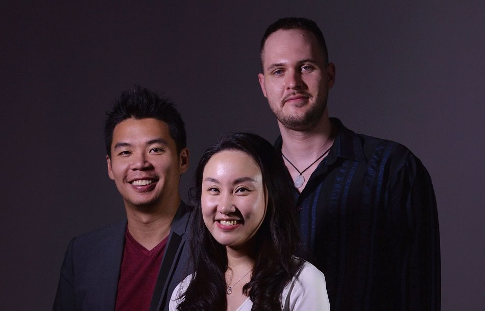 Jeffrey Tiong, Guan Dian, and Markus Haense of PatSnap