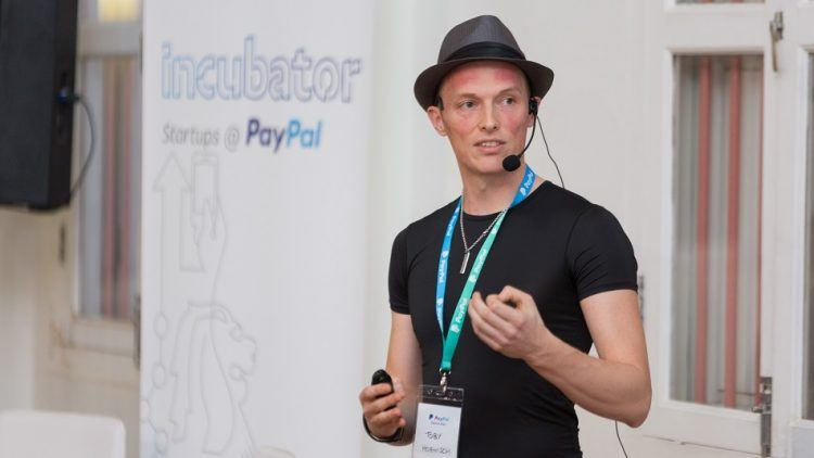 TenX CEO Toby Hoenisch.