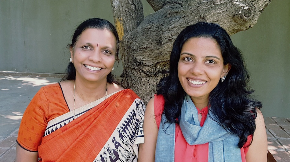 Niramai co-founder Geetha Manjunath and Nidhi Mathur.