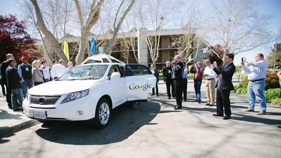 SU participants with Google's self-driving car