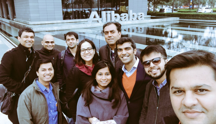 Alibaba and the 40 founders from India