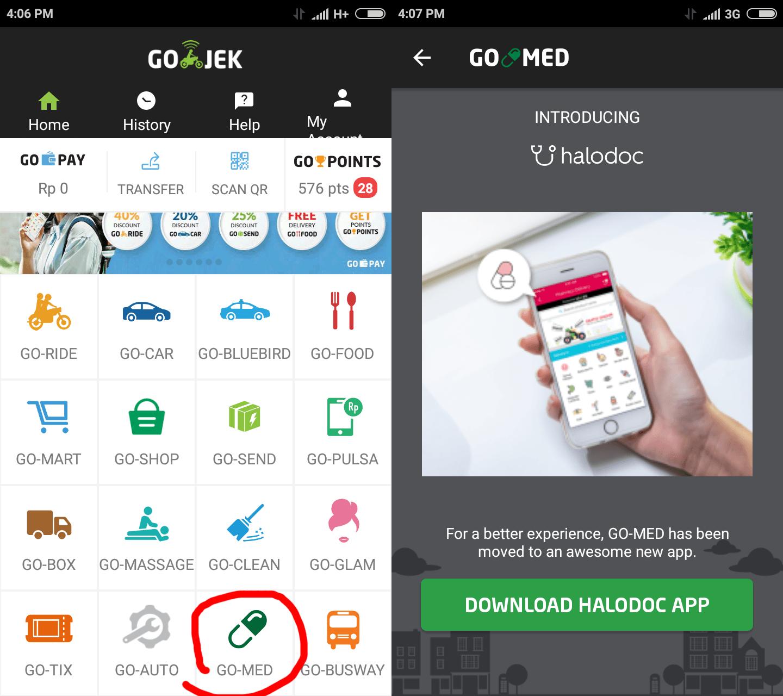 Go Jek: Go-Jek's Medicine Delivery Now Runs Through HaloDoc