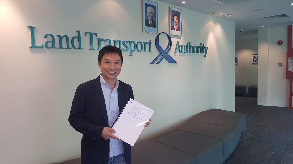 Ryde CEO Terence Zou