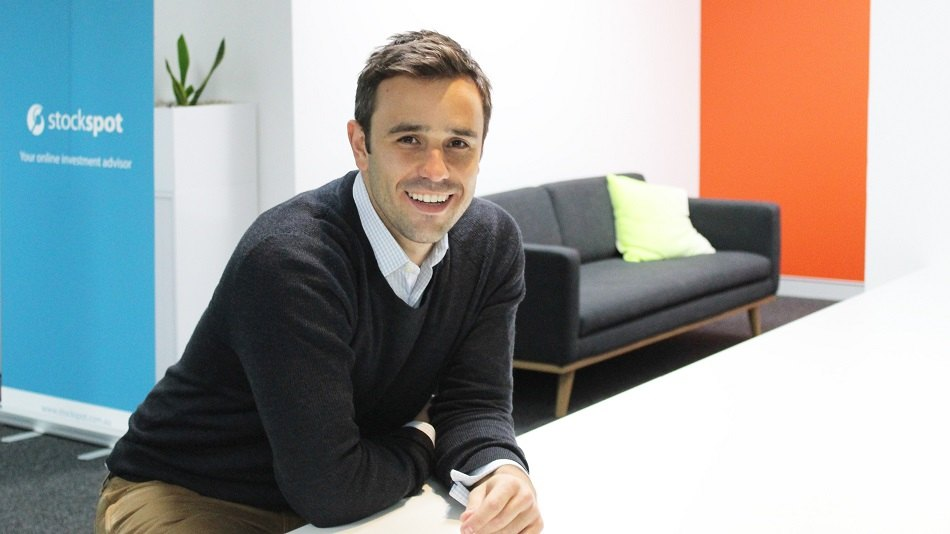 Stockspot CEO and founder Chris Brycki.