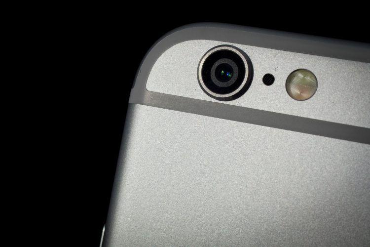 iPhone 6 camera closeup