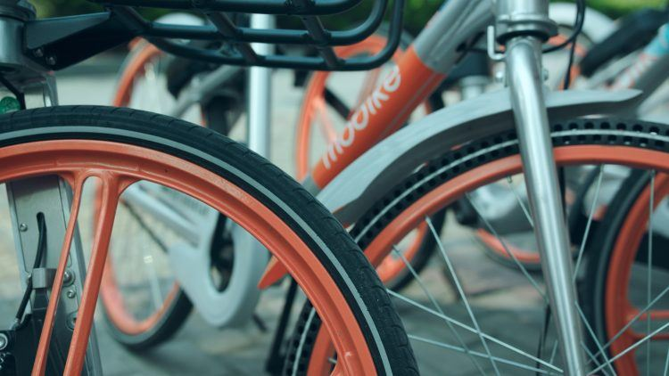 Mobike bicycles