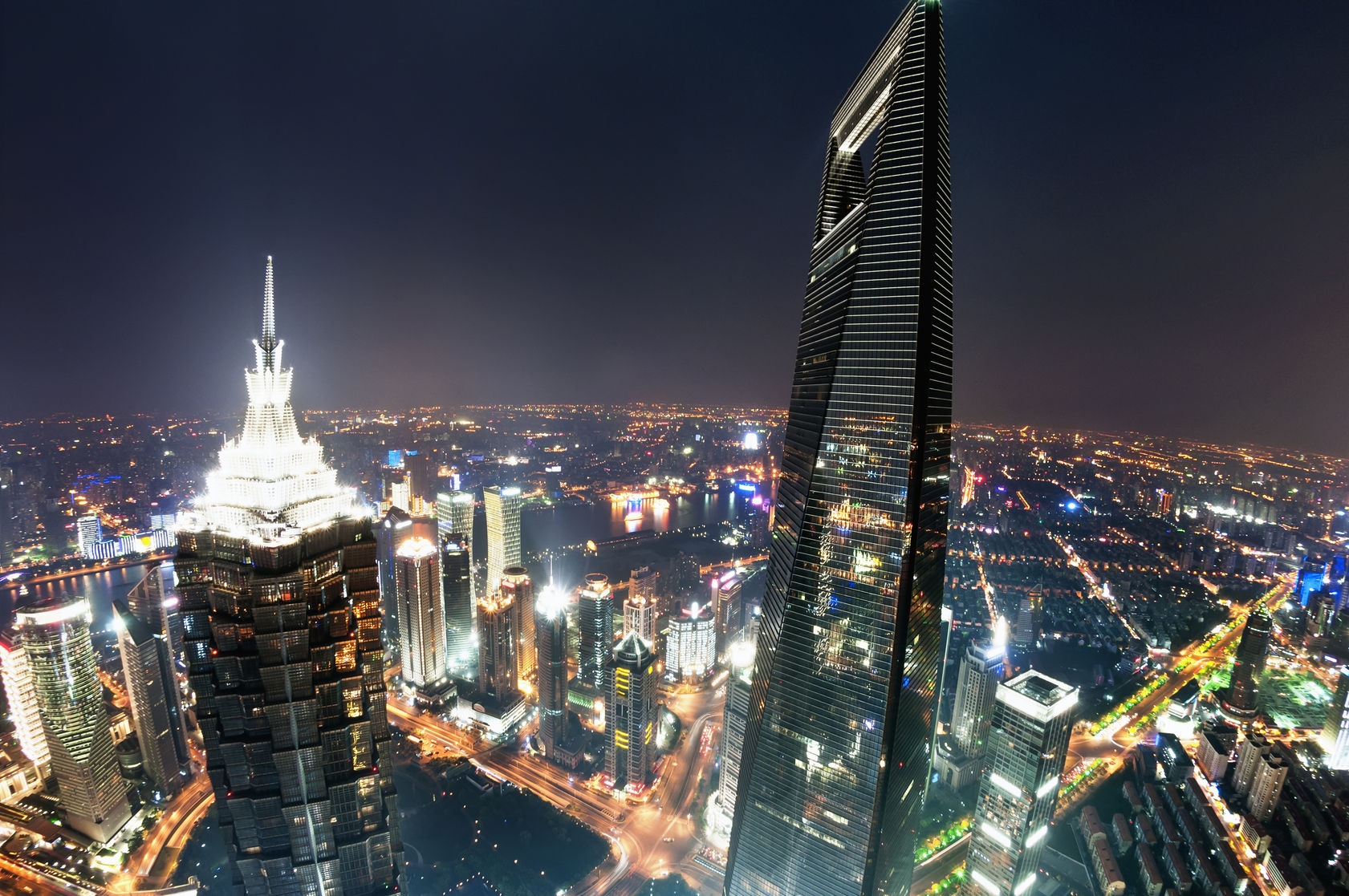 Shanghai, skyscraper