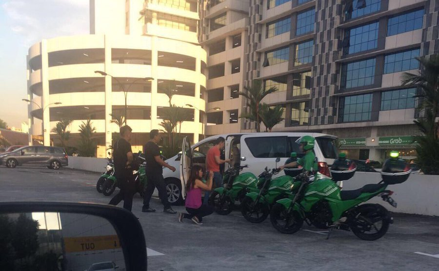 Grab reveals what its green motorbikes in Singapore are for