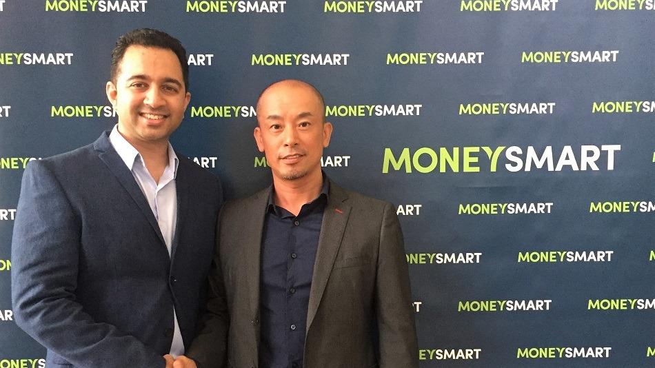 Moneysmarts Vinod Nair and Kakakus Genta Sugihara