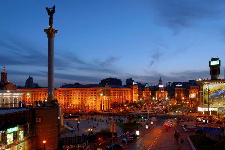 Maidan, Kiev, Ukraine