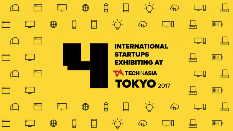 4 international startups exhibiting at Tech in Asia Tokyo 2017
