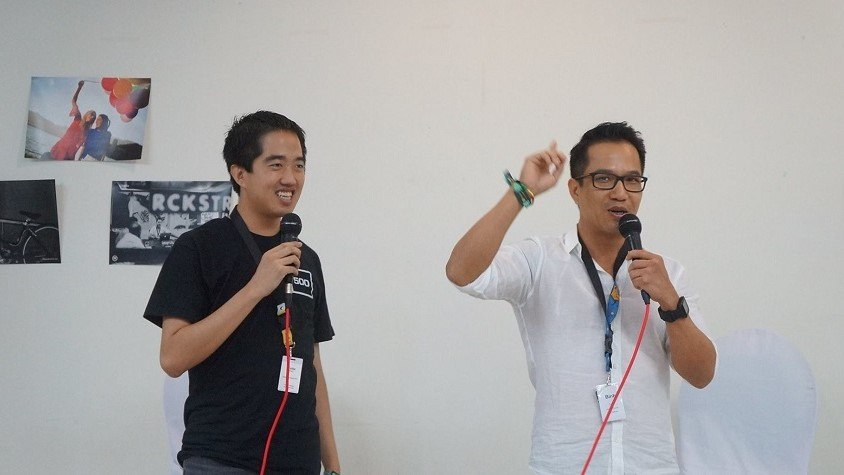 500 Startups Vietnam partners Eddie Thai and Binh Tran