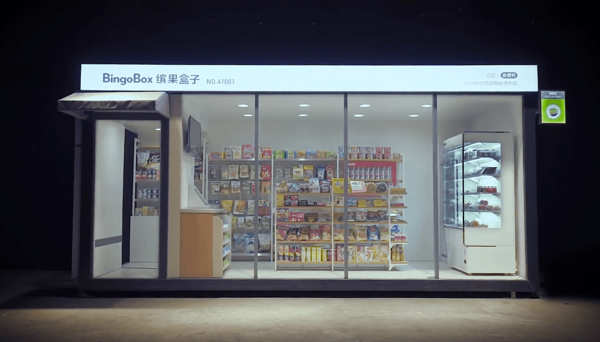 Bingobox - Amazon Go style store