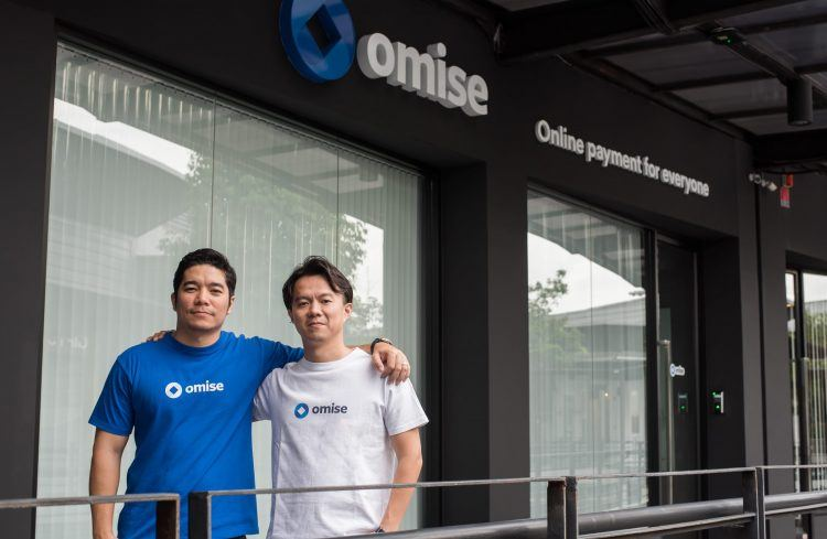 Omise co-founders