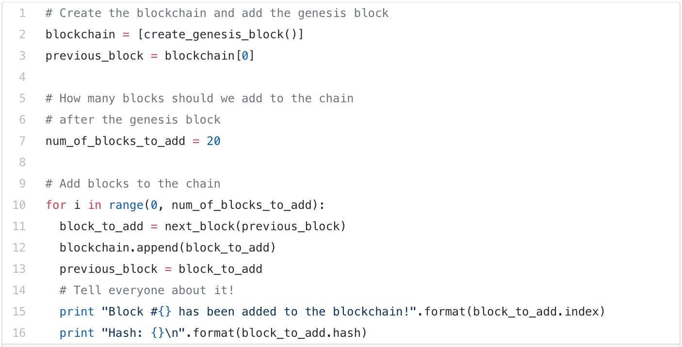 Xây dựng 1 Blockchain đơn giản chỉ với 50 dòng code