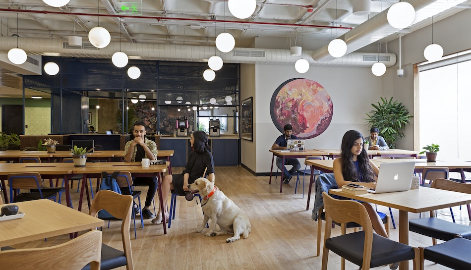 Co-working behemoth WeWork strides into India's Silicon Valley