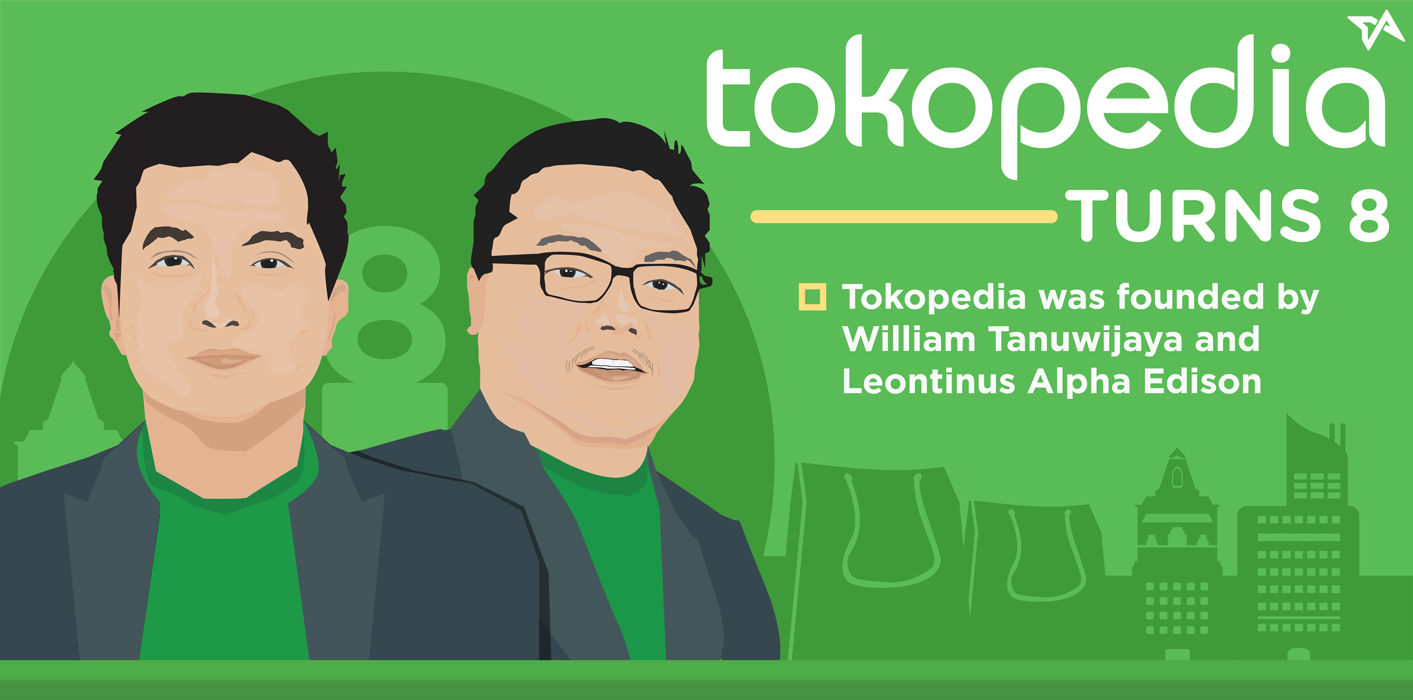 Tokopedia turns 8