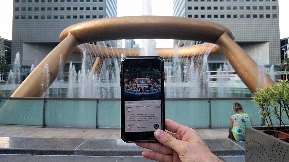 Explorest profile - fountain of wealth