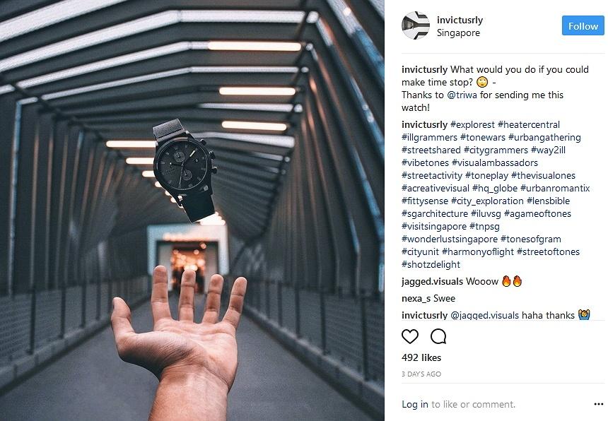 Explorest Instagram influencer