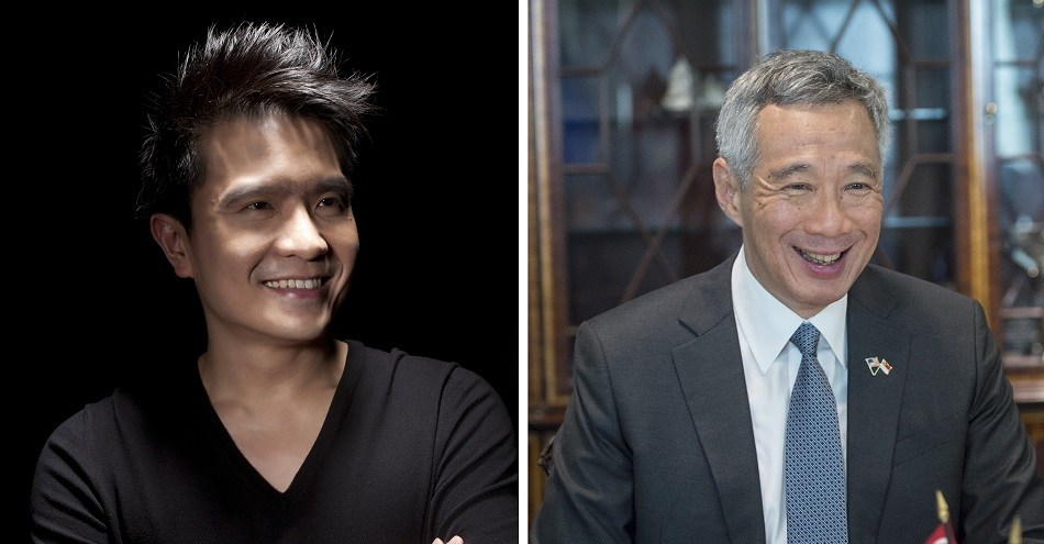 Razer CEO Min-Liang Tan and Singapore Prime Minister Lee Hsien Loong