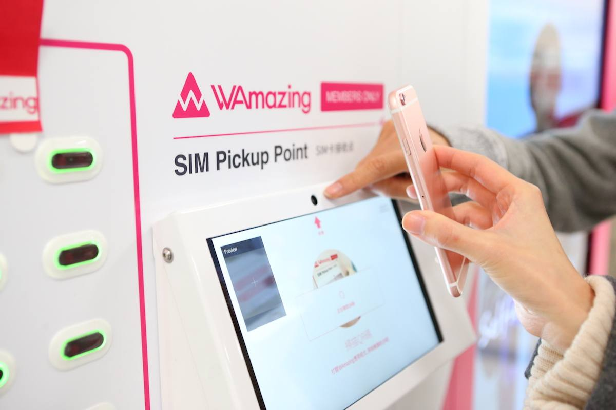 WAmazing free SIM card for Japan