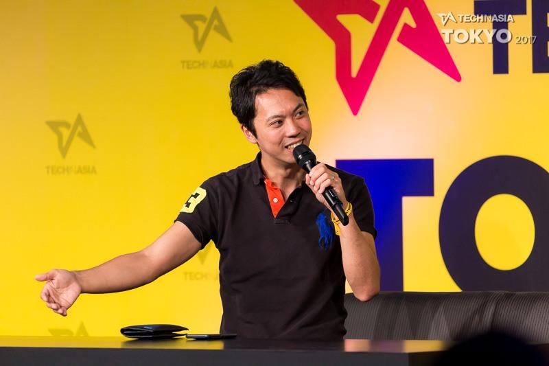 Raksul CEO Yasukane MatsumotoRaksul CEO Yasukane Matsumoto