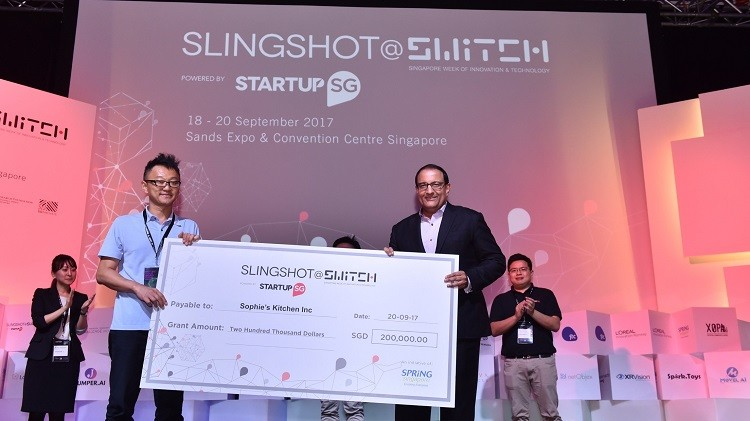 Slingshot@Switch 2017 competition winner Sophie's Kitchen