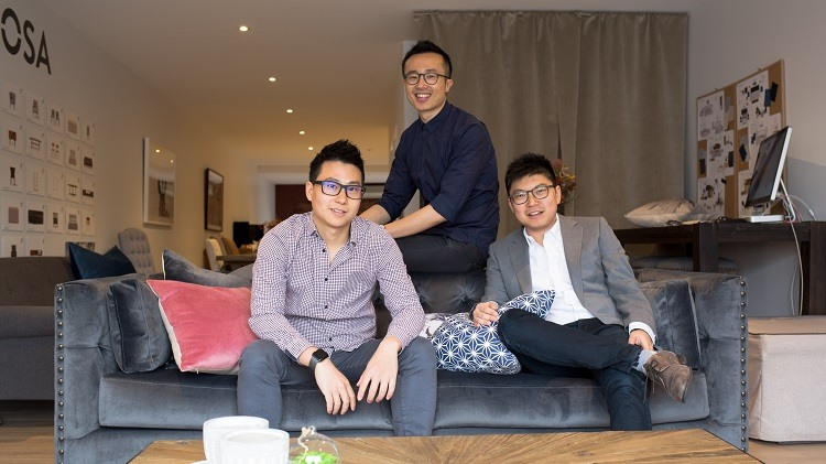 Brosa co-founders