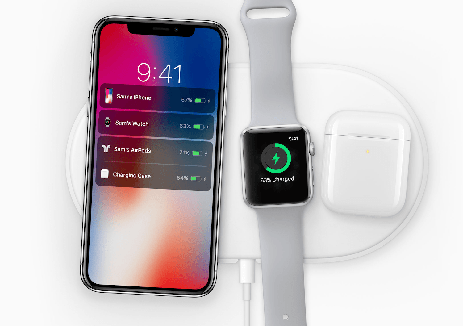 6d74cb0f53a iPhone X, wireless charging, Apple Watch, Airpods