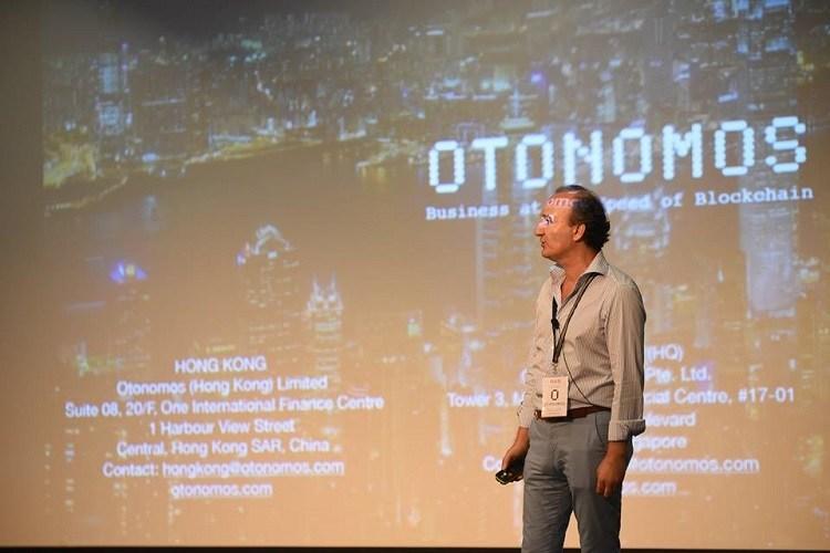 Otonomos founder Han Verstraete