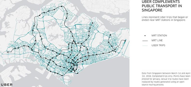 Uber Singapore ride data