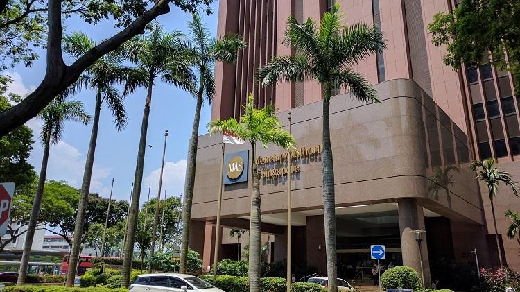 Monetary Authority of Singapore building, downtown Singapore