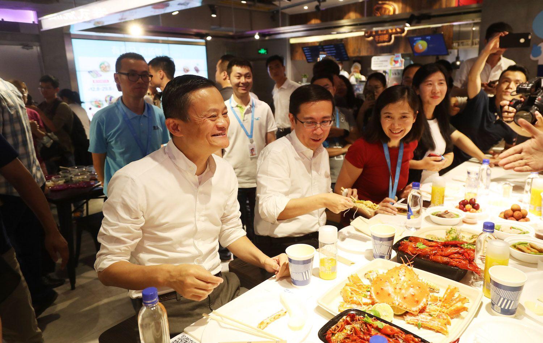 Alibaba, Jack Ma, Hema supermarket