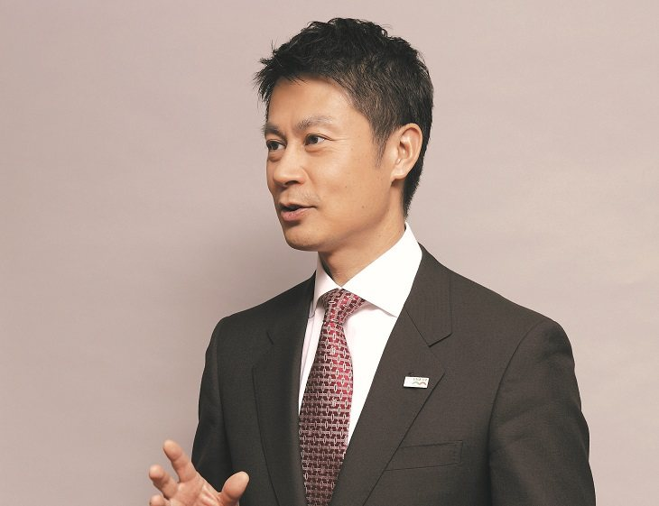 Hiroshima governor Hidehiko Yuzaki