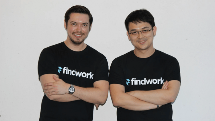Findwork's Co-Founders Kevin Williams and Allen Tan