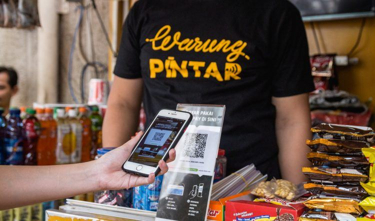 Go-Jek Is Warung Pintar's First Cashless Payments Partner