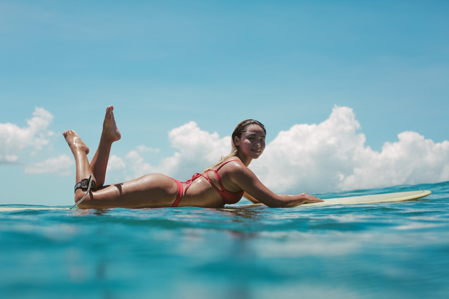 She's created a bikini brand for surfers, and she just raised seed funding