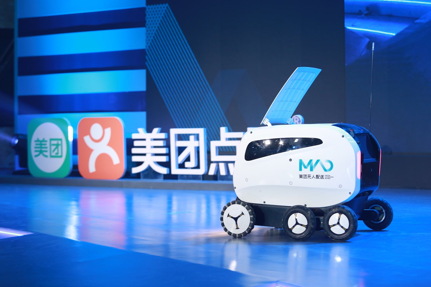 China's ecommerce giants deploy robots to deliver orders amid coronavirus outbreak