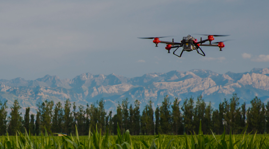 Meet one of China's biggest agricultural drone makers
