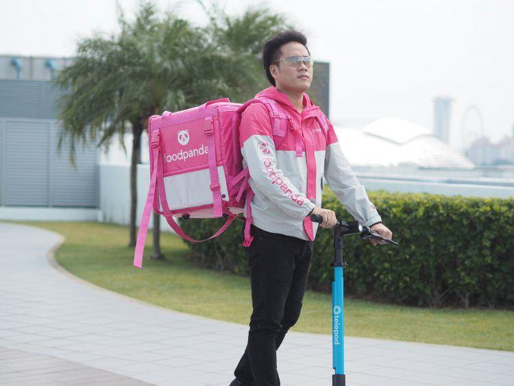 Telepod partners Foodpanda, Buzz on e-scooter batteries
