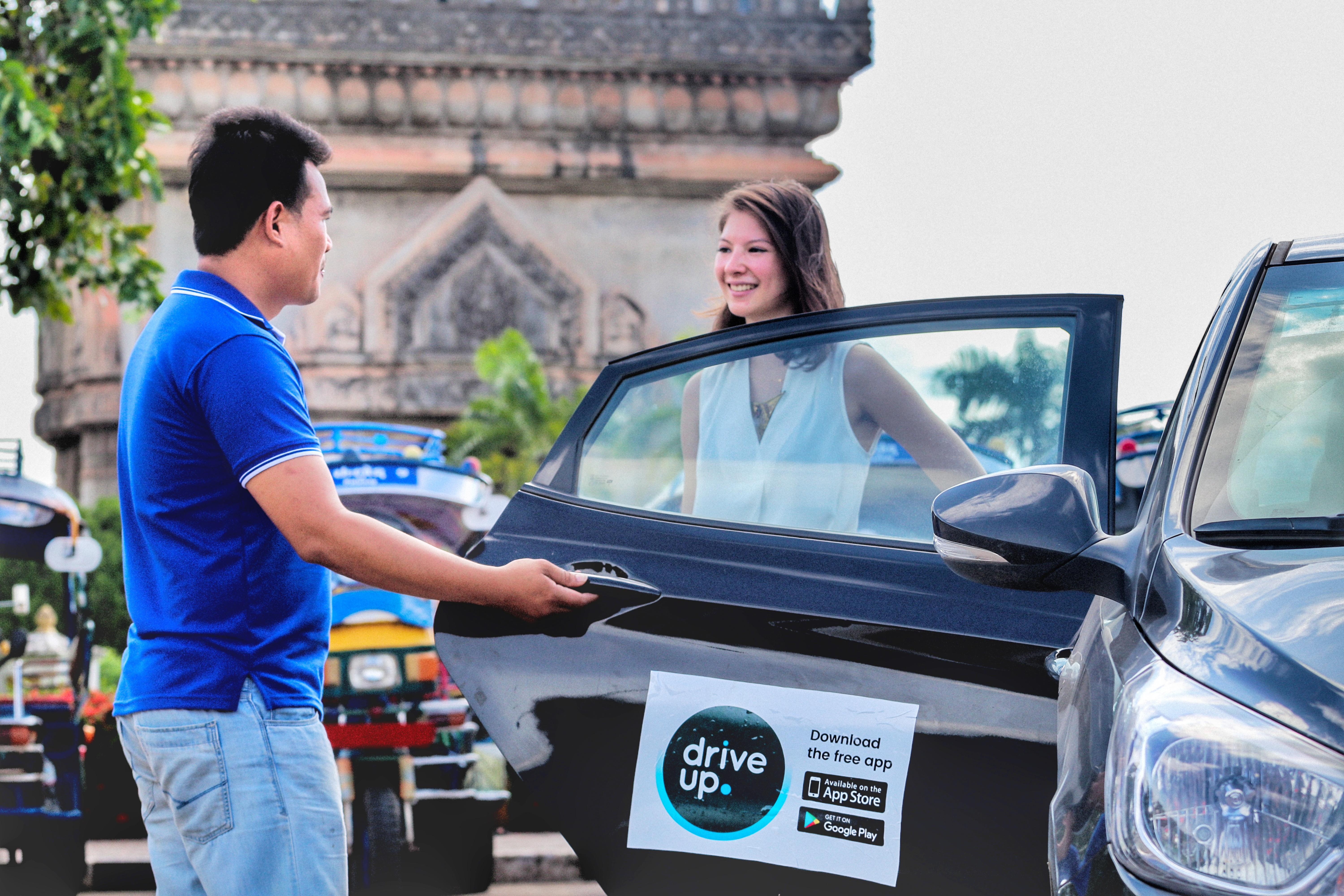 Cambodia's Meal Temple launches ride-hailing app in Laos