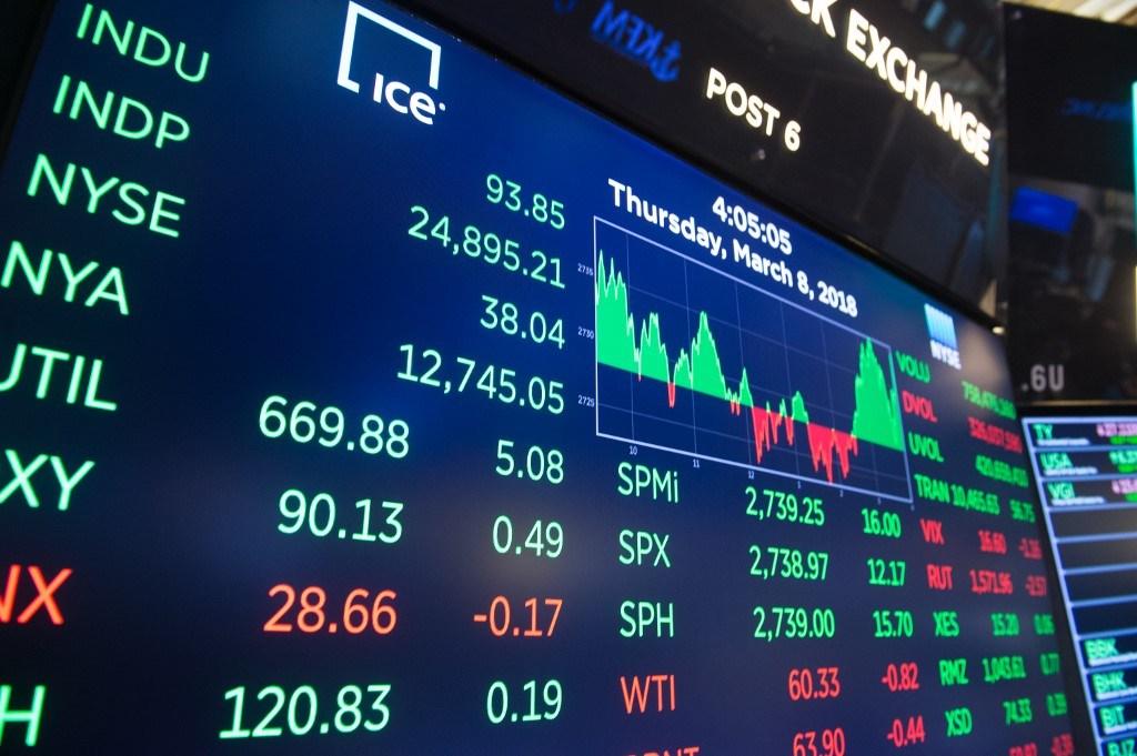 NYSE board close