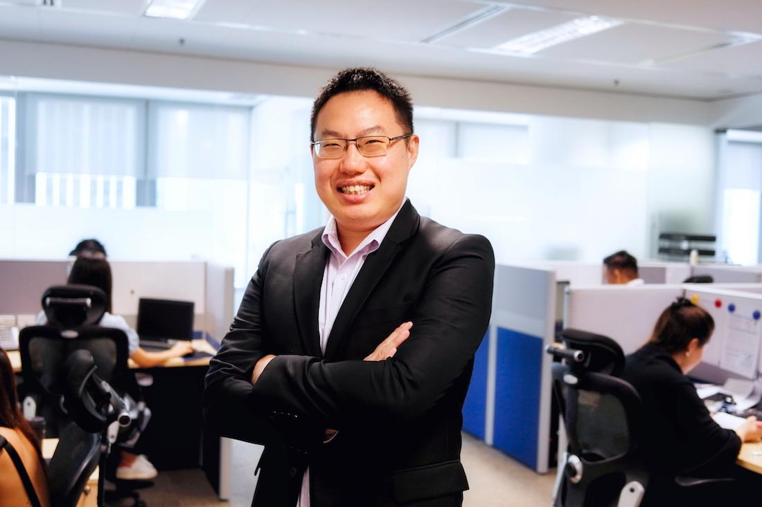 1Exchange CEO Choo Haiping