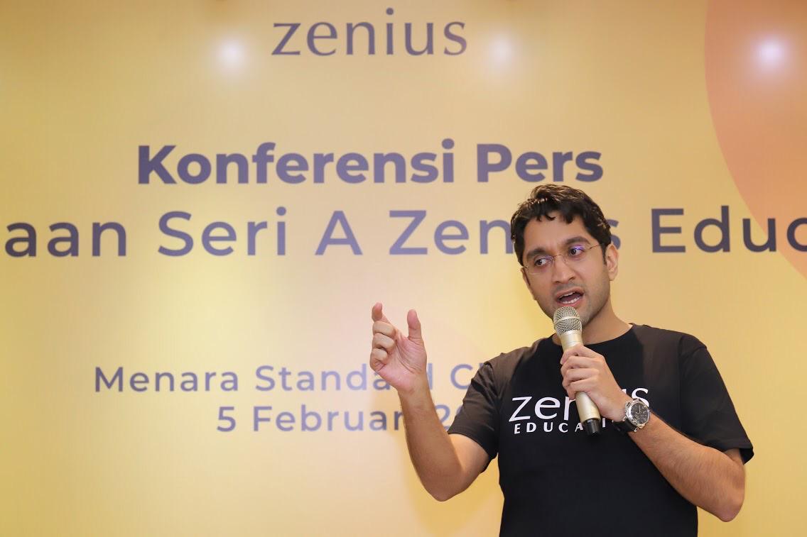 Rohan Monga Zenius CEO
