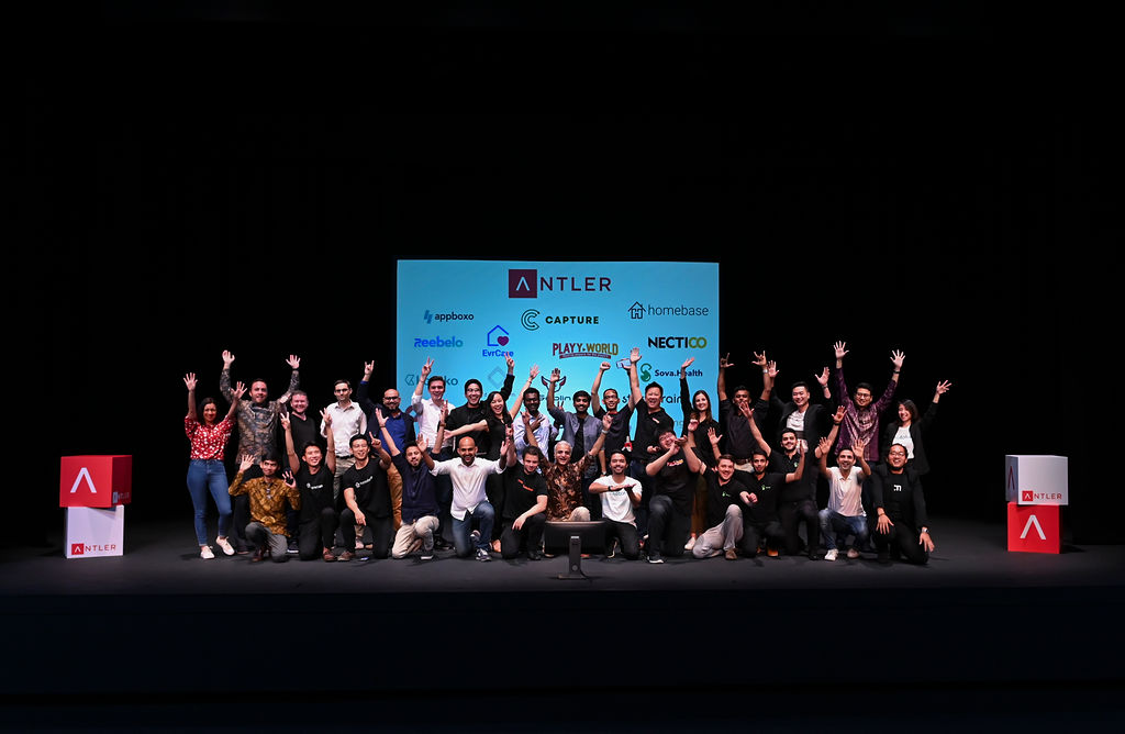 Antler Singapore's Cohort 3 at Demo Day