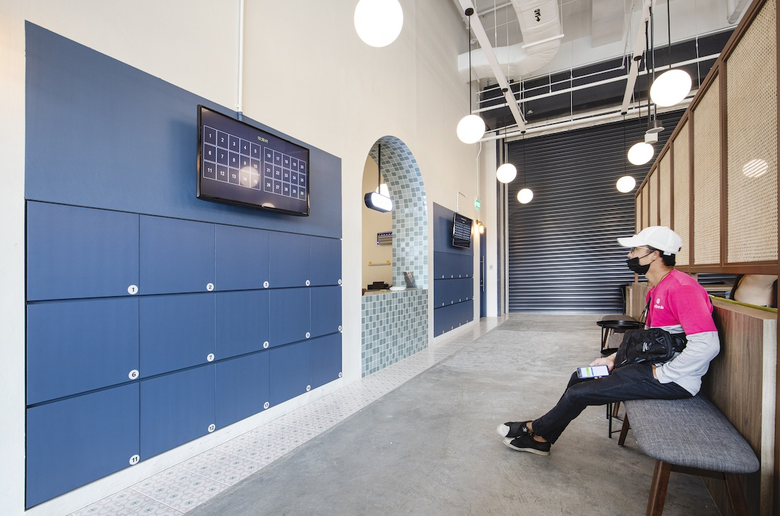 Smart City Kitchens Drivers Lounge