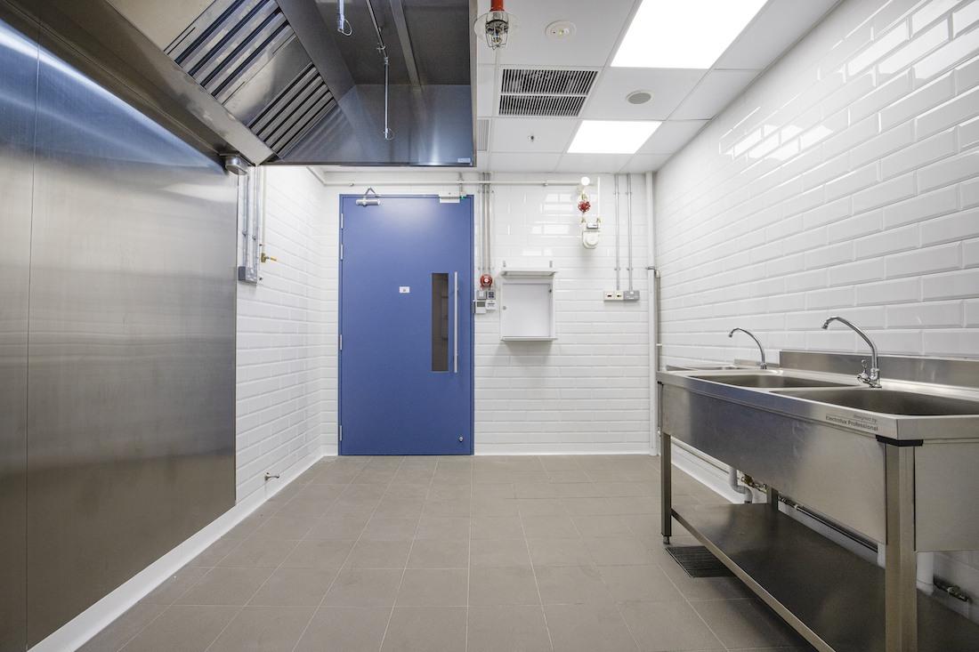 Smart City Kitchens hot kitchen rear